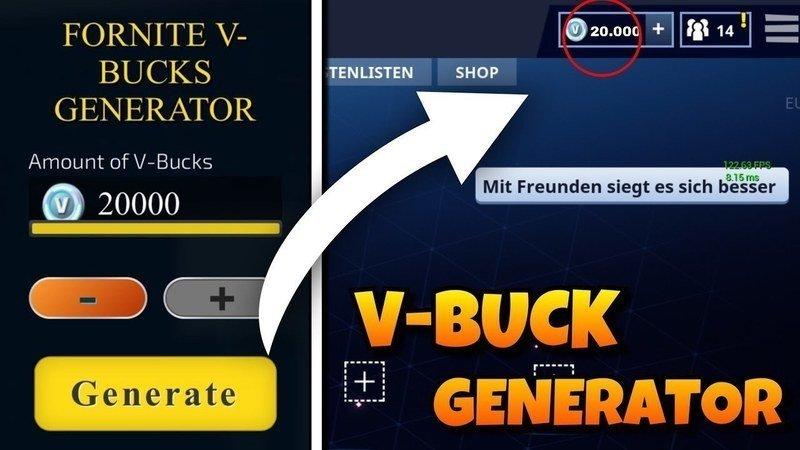 vbucks generator